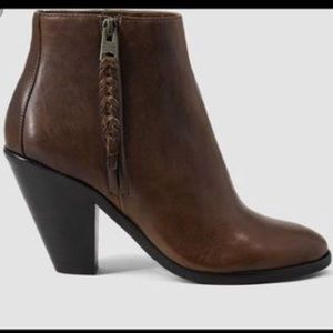 All Saints Paget Leather Booties